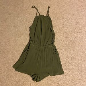 Selling Green Halter-Top Romper from H&M